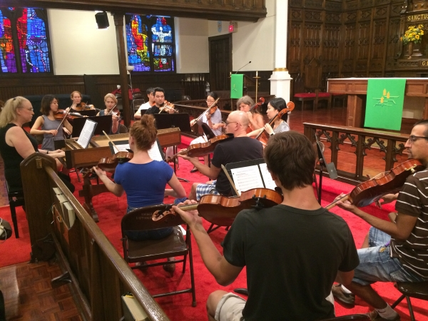 Jubilee Orchestra Rehearsal